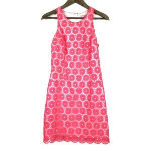 Lilly Pulitzer Pearl Pinwheel Embroidered Dress